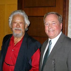 don Oravec and David Suzuki