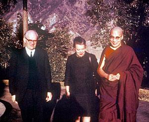 Woodcocks with Dalai Lama