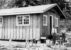 Woodcock's Sooke Cabin